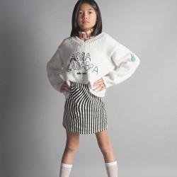 bobo choses hypnotized cream skirt