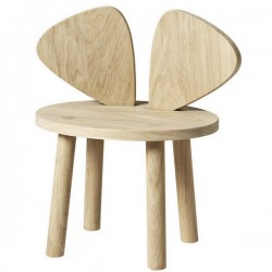 Chaise enfant Mouse Nofred