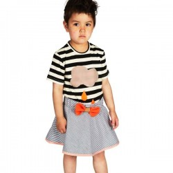bang bang copenhagen striped skirt