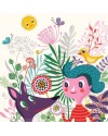 Helen Dardik Fiona and her magic garden Print