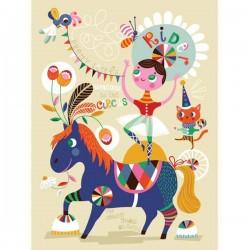 Helen Dardik Pretty Little Rider Print - 50x70 cm