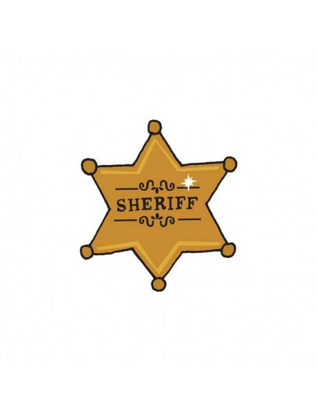 Tattly 's Sheriff Badge (set of 2)