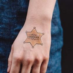 Tattly 's Sheriff Badge (set of 2)
