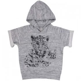 soft gallery leopard hoodie sweatshirt