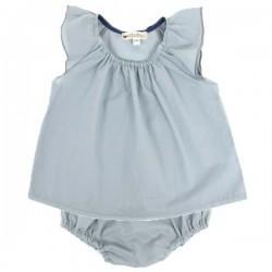 Nobodinoz | baby girl blouse: blue