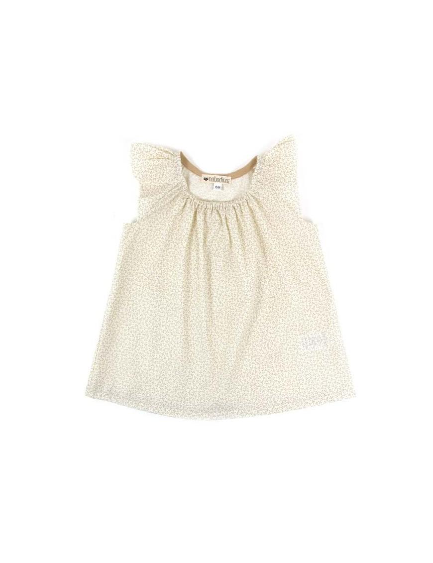 Nobodinoz - Havana Baby Girl Blouse - sparkles