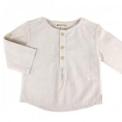 NOBODINOZ | chemise bébé été garçon: rayée