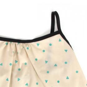 Nobodinoz - Miami Girl Blouse - green triangle