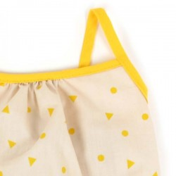 Nobodinoz Blouse Fille Miami - triangles jaunes
