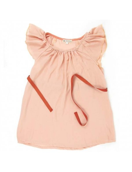 Nobodinoz - Cuba Girl Dress - salmon pink