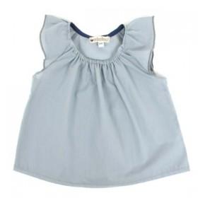 Nobodinoz - Havana Girl Blouse - grey blue