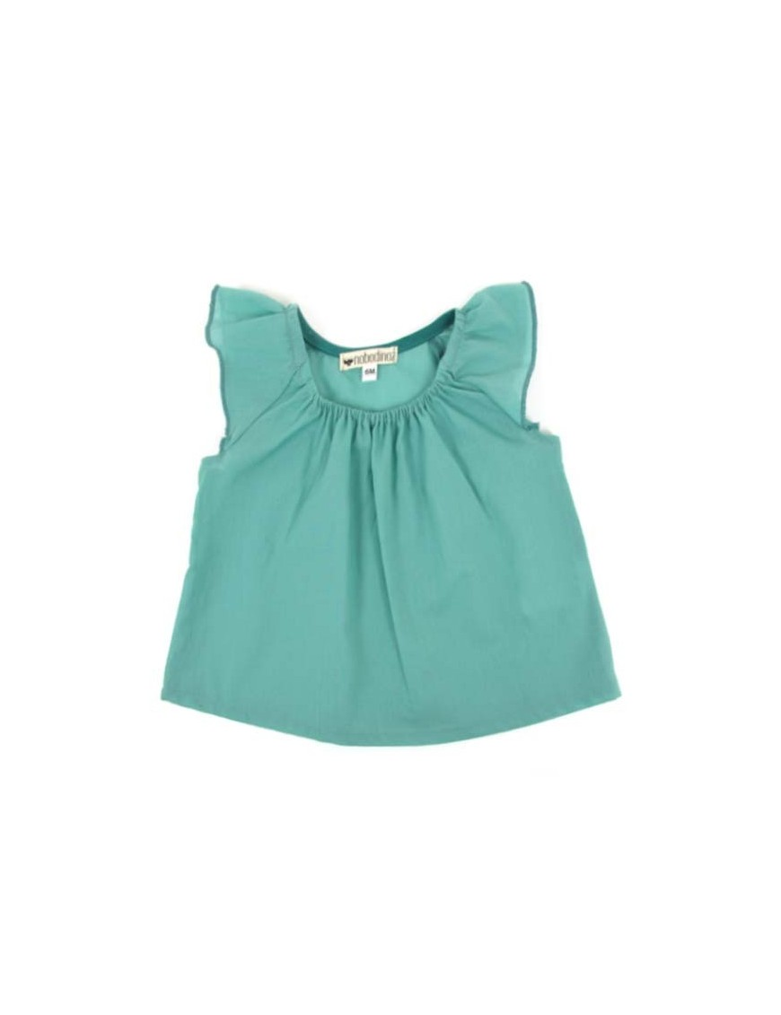 Nobodinoz - Havana Girl Blouse - green