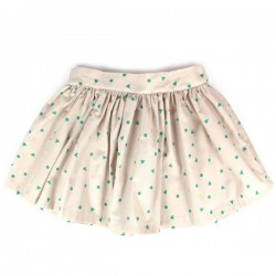 4A - Nobodinoz Polinesia Girl Skirt - green triangle