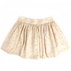 Nobodinoz Girl's Skirt with yellow triangles print
