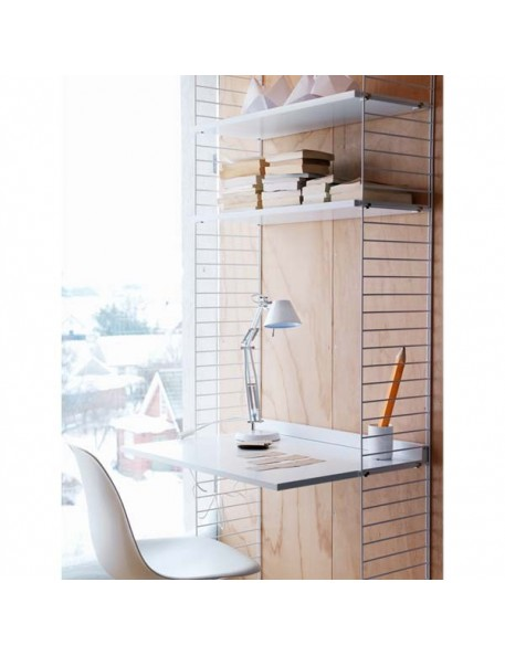 string furniture ensemble de bureau blanc