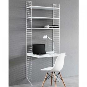 string furniture ensemble de bureau blanc