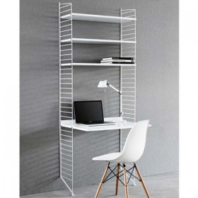 STRING - String Pocket BookShelf - White