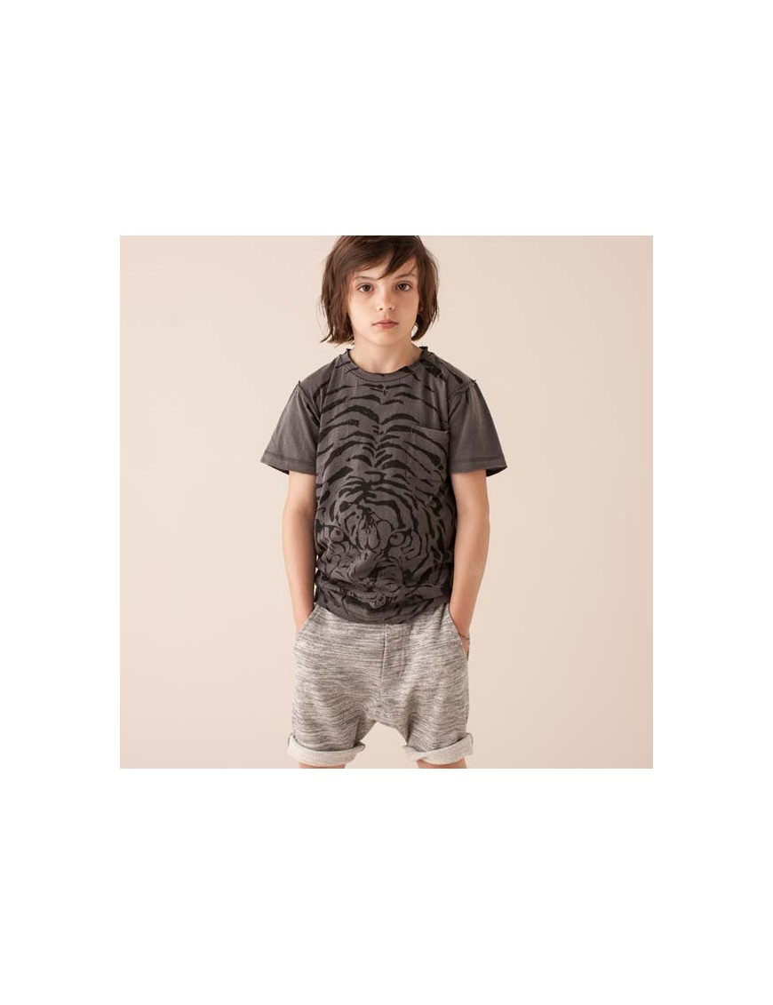 SOFT GALLERY - T Shirt Ashton Tiger Explosion