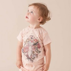 SOFT GALLERY - Baby Girl T-Shirt Ashton Baby Kitty