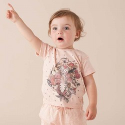 SOFT GALLERY - Baby Girl T-Shirt Ashton Baby Kitty