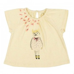 soft gallery baby girl t-shirt olivia daydream