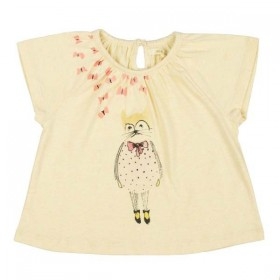 soft gallery baby girl t-shirt olivia daydream