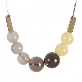 Titlee - Fulton Necklace - Yellow
