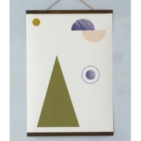 ferm living affiche geometry 1