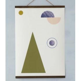 ferm living poster geometry