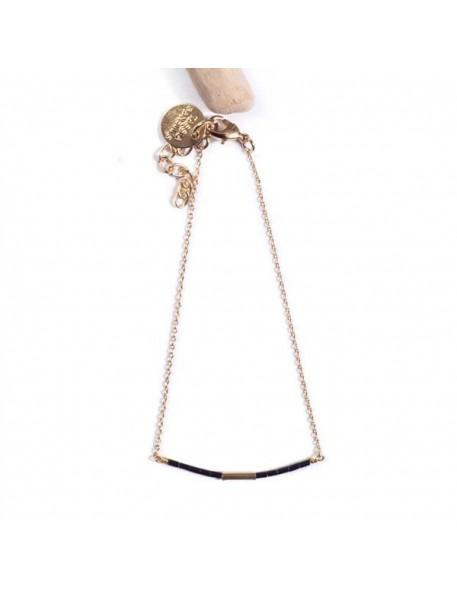 Tassia Canellis - Bracelet Golden Teal