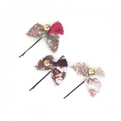 Numero 74 - Set of 3 Bow Hairclip