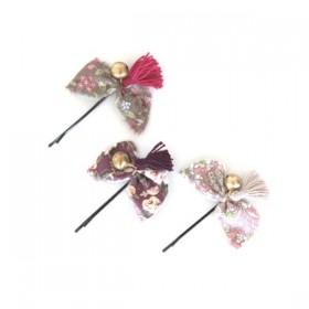 Numero 74 - Set of 3 Bow Hairclip