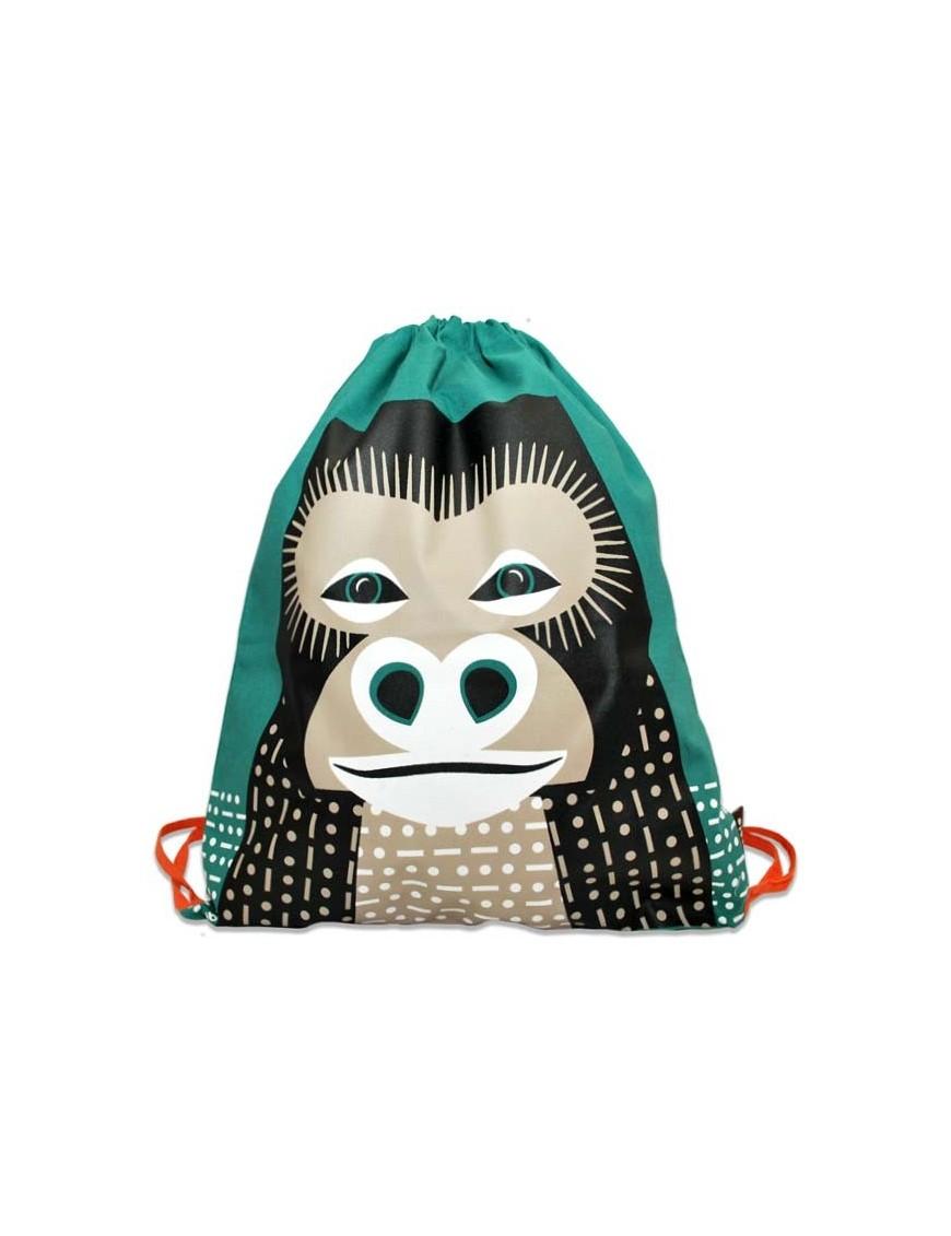 Coq En Pâte - Kids Rucksack with Gorilla Print