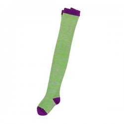 FRANKY GROW - Grain Tights Green&Grey