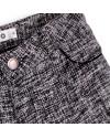short fille en tweed gris troizenfants