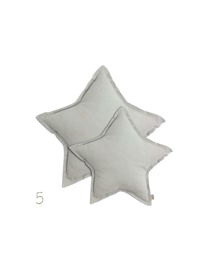 Numero 74 - Coussin étoile : pastel (medium)