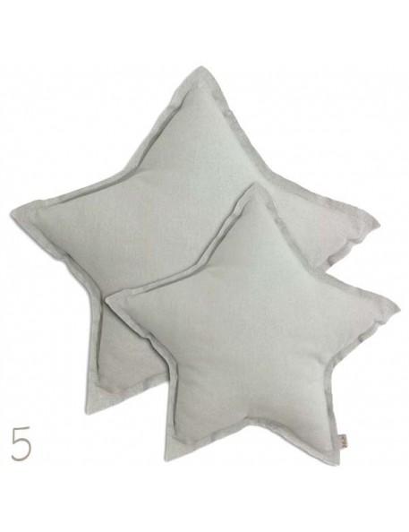 Numero 74 - Large Star Cushion - pastel