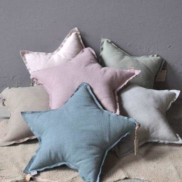 Numero 74   Large Star Cushion   pastel   POP LINE