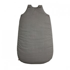 Numero 74 Grey Sleeping Bag with dots