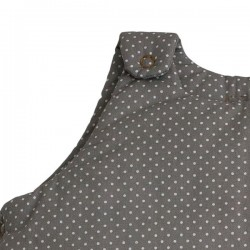 Numero 74 Grey Sleeping Bag with dots