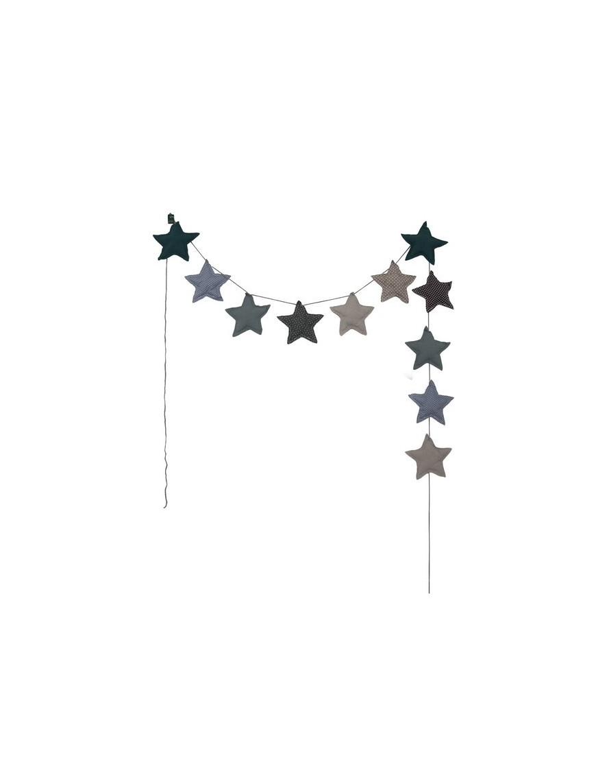 Numero 74 - Blue Star Garland