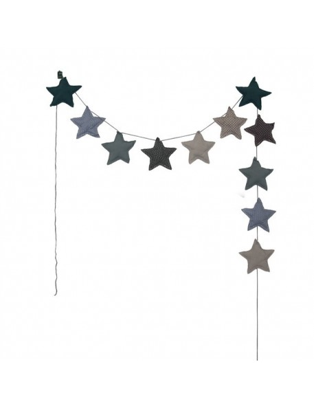 Numero 74 Blue Star Garland