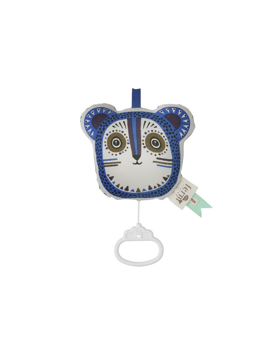 Ferm Living - Billy Bear Music Box - Blue