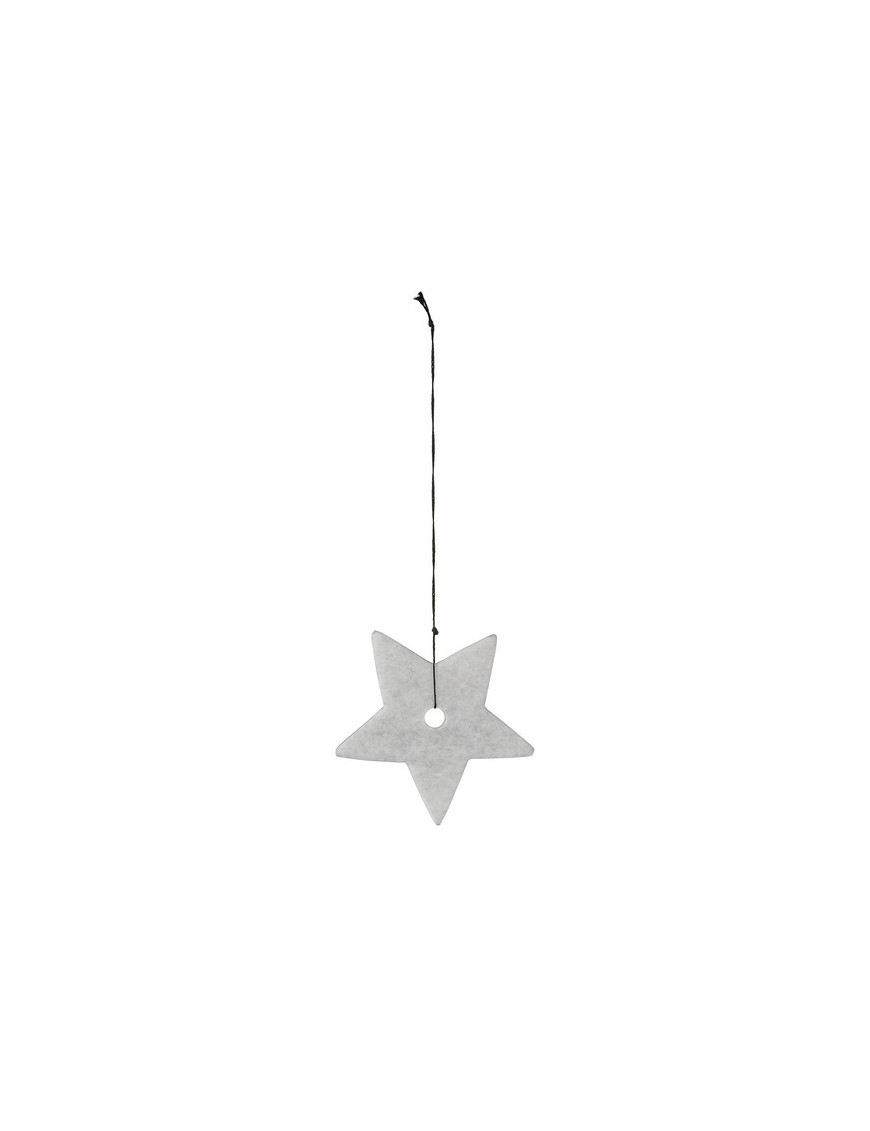 Bloomingville - Marble Star Ornament - Ø7 cm