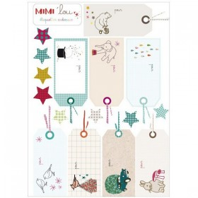 "Mimi'Lou - Sticker kit ""gifts"""
