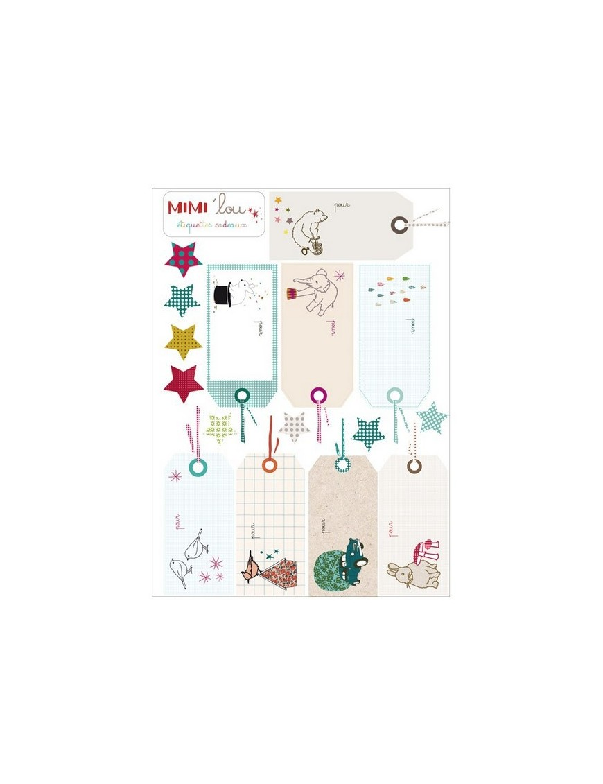 "Mimi'Lou - Sticker kit ""gifts"""