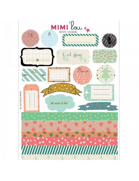 "Mimi'Lou - Sticker kit ""FROM ME TO YOU"""