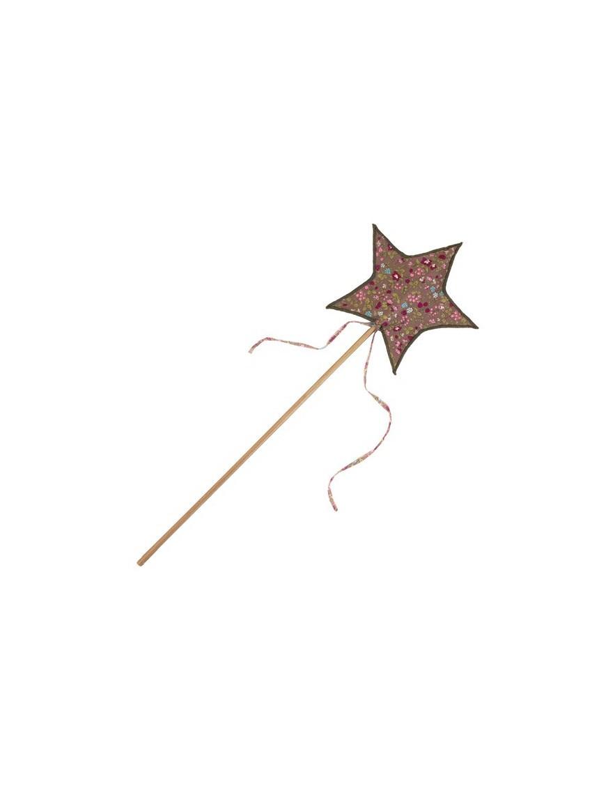 numero 74 baguette magique étoile lovely liberty brun