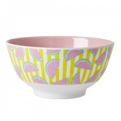 RICE - Bowl Two Tone With Watermelon Print