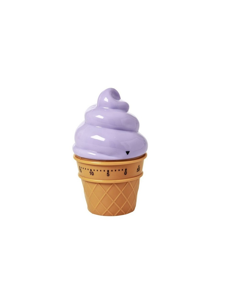 RICE - Ice Cream Shaped Egg Timer in Lavender Color